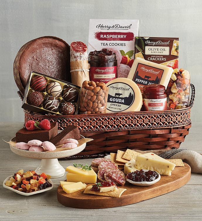 Gourmet Specialty Snacks Basket