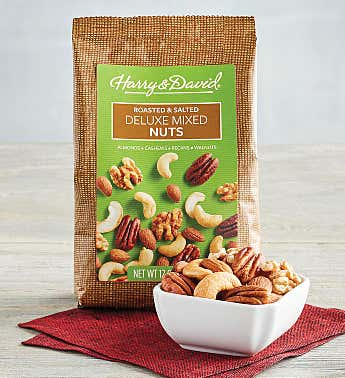 Roasted and Salted Deluxe Mixed Nuts
