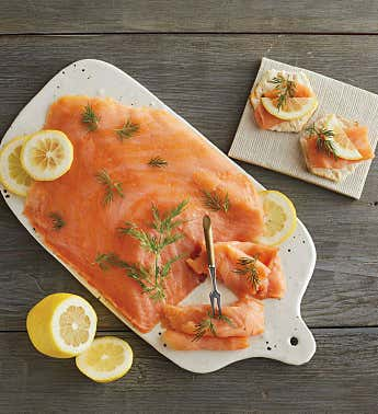 Traditional Cold Smoked Salmon