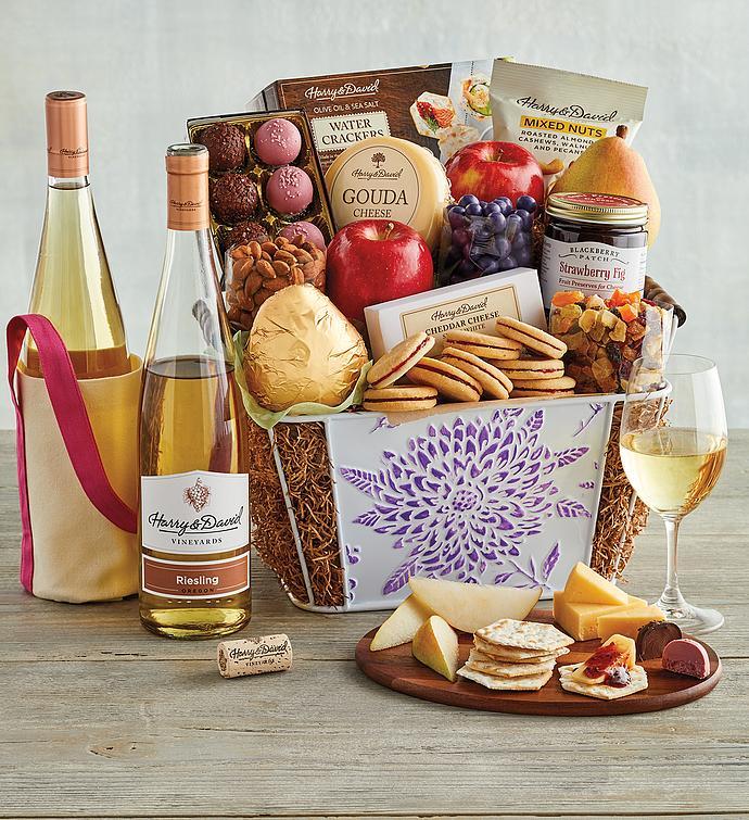 Motheru0027s Day Gift Basket with Wine  sc 1 st  Harry u0026 David & Motheru0027s Day Gift Basket with Wine | Harry u0026 David