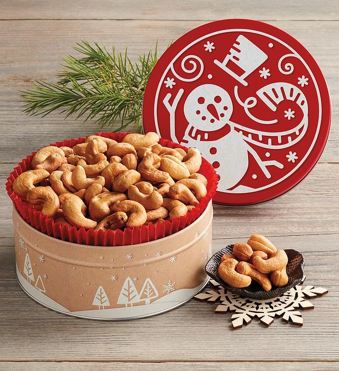 Holiday Cashew Gift Tin