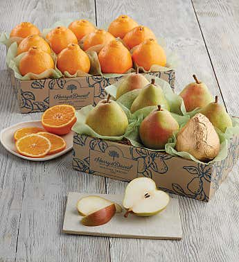 HoneyBells and Royal Verano Pears