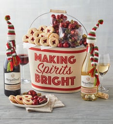 Winter Whimsy Wine Gift