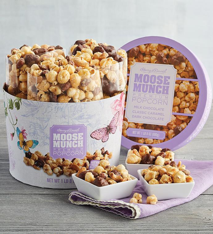 Moose Munch Premium Popcorn Drum