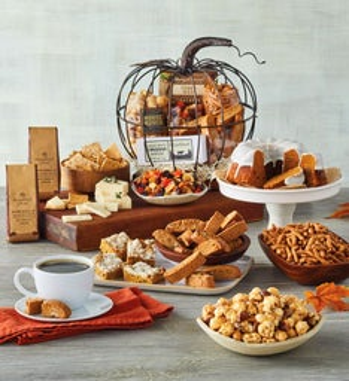 Southern Living PumpkinShaped Gift Basket