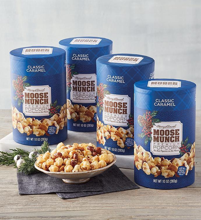 Moose Munch Holiday Premium Popcorn  Classic Caramel   Pack