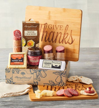 Autumn Meat and Cheese Gift