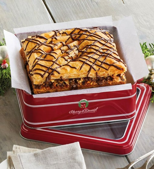 Holiday Chocolate-Covered Baklava