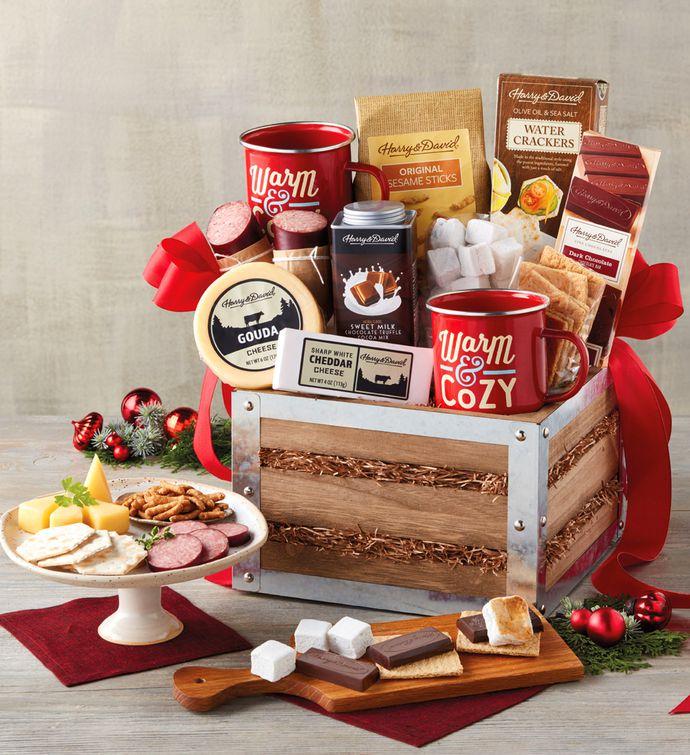 Southern Living Fireside Smores Gift Basket