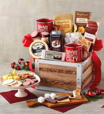 Southern Living Fireside S39mores Gift Basket