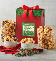 Moose Munch® Premium Popcorn Holiday Box