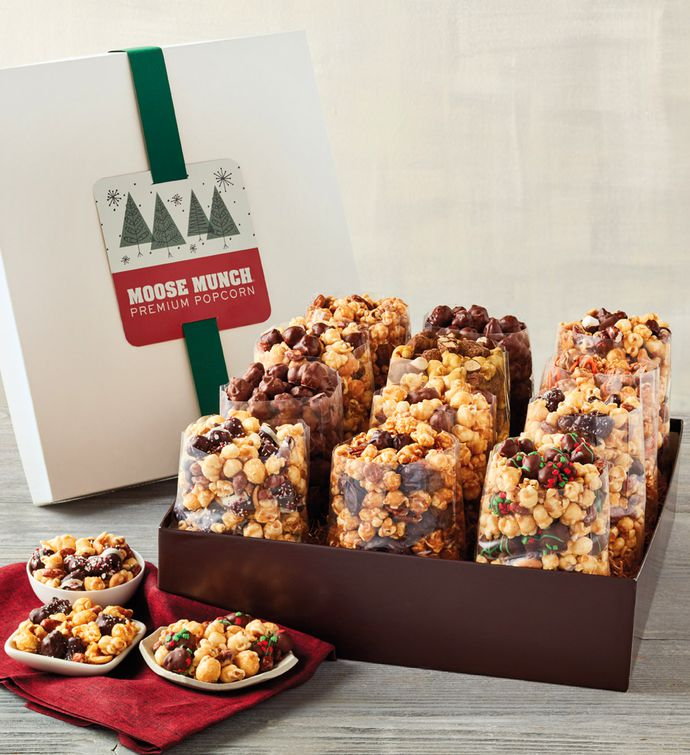 Moose Munch Premium Popcorn Ultimate Holiday Gift Box
