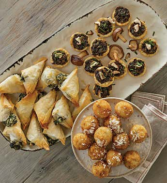 World-Inspired Appetizer Assortment