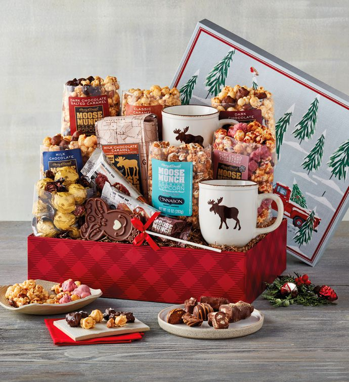 Moose Munch Premium Popcorn Deluxe Holiday Gift