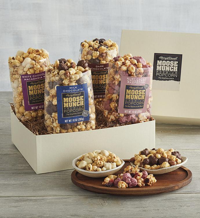 Moose Munch Premium Popcorn Variety Box