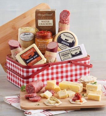Country Living Meat and Cheese Picnic Tin