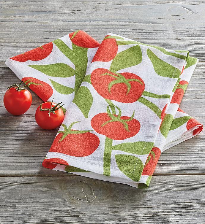 Flour Sack Tomato Towel
