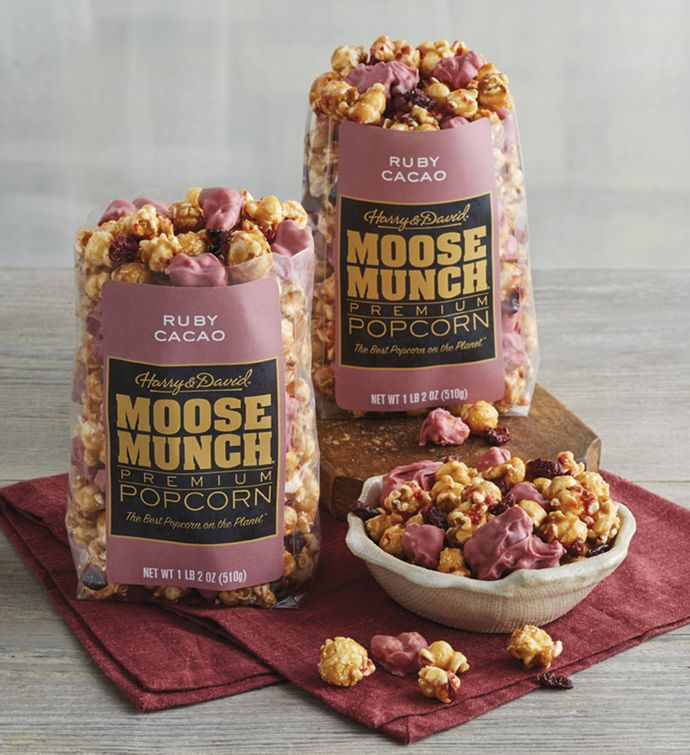 Moose Munch Ruby Cacao Premium Popcorn