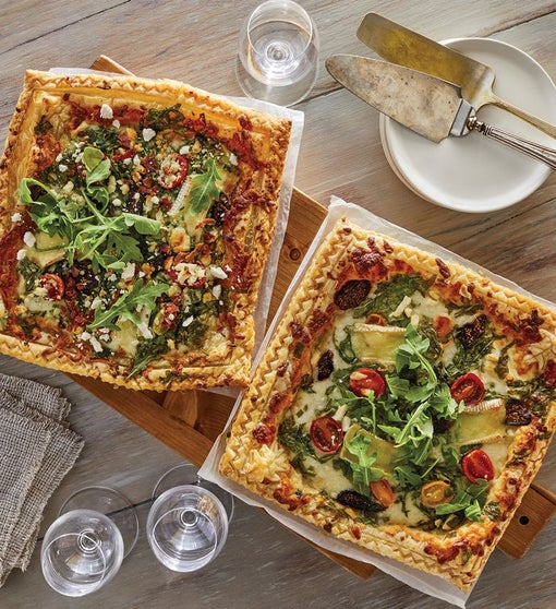 Gourmet Puff Pastry Pizza 2-Pack