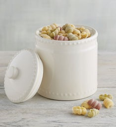Hobnail Pattern Canister