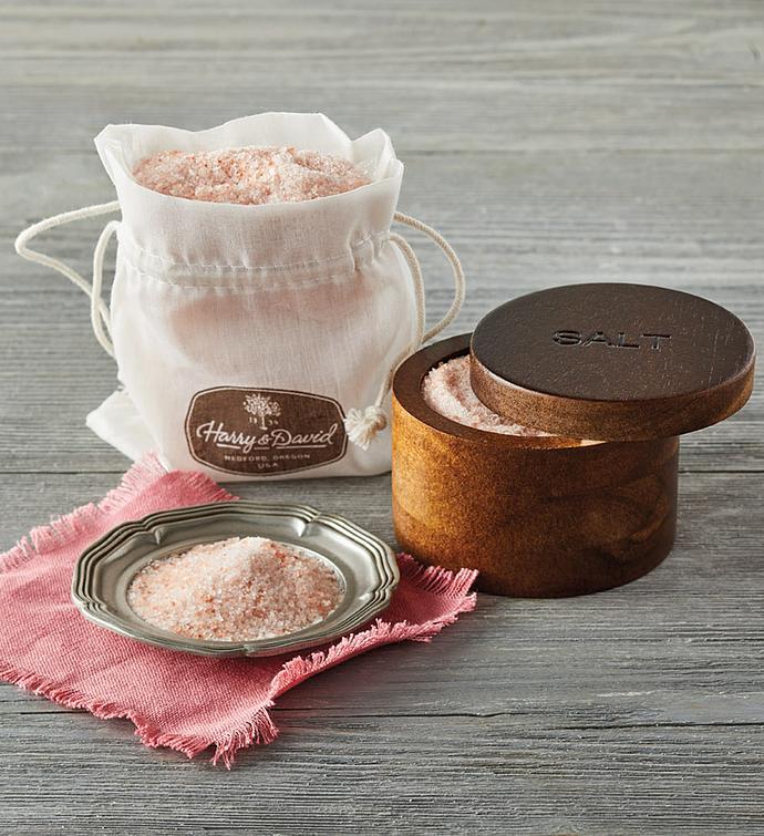 Himalayan Salt with AcaciaWood Holder