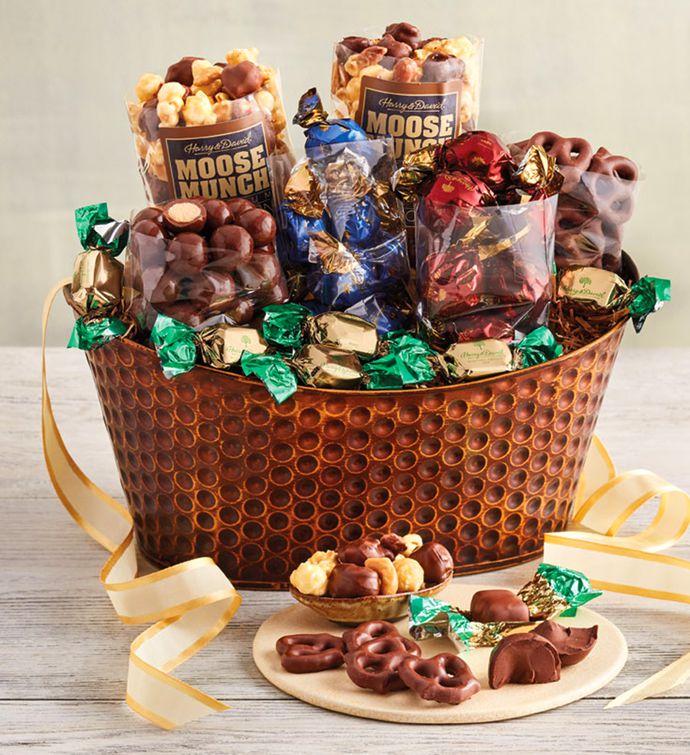 Chocolate Treats Gift Basket
