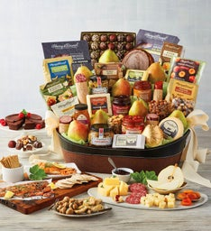 Gourmet Entertainers Gift Basket