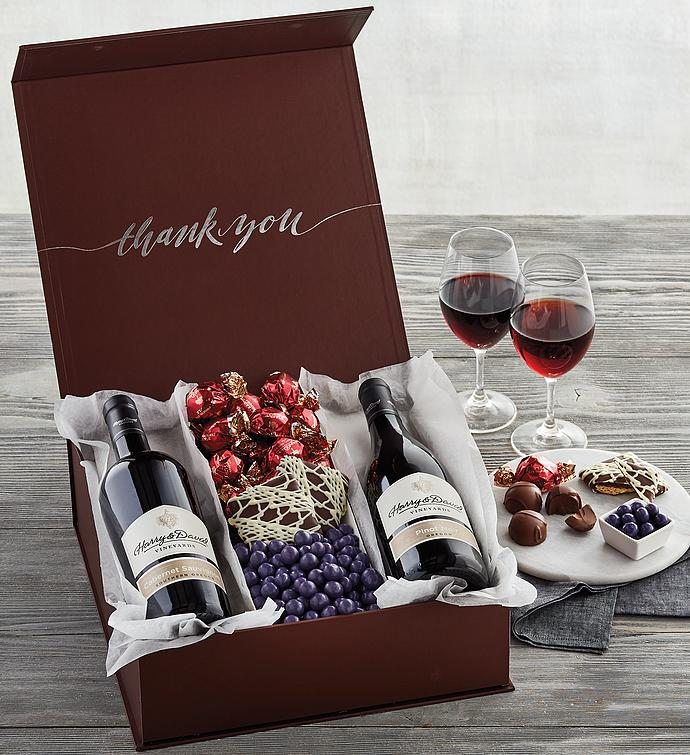 Thank You Red Wine Gift Box | Harry & David |Wine Thank You Gifts