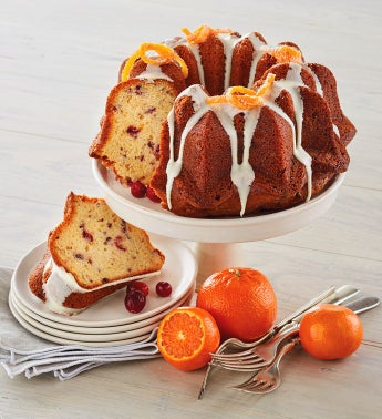 Wolferman's® Cranberry Orange Bundt Cake