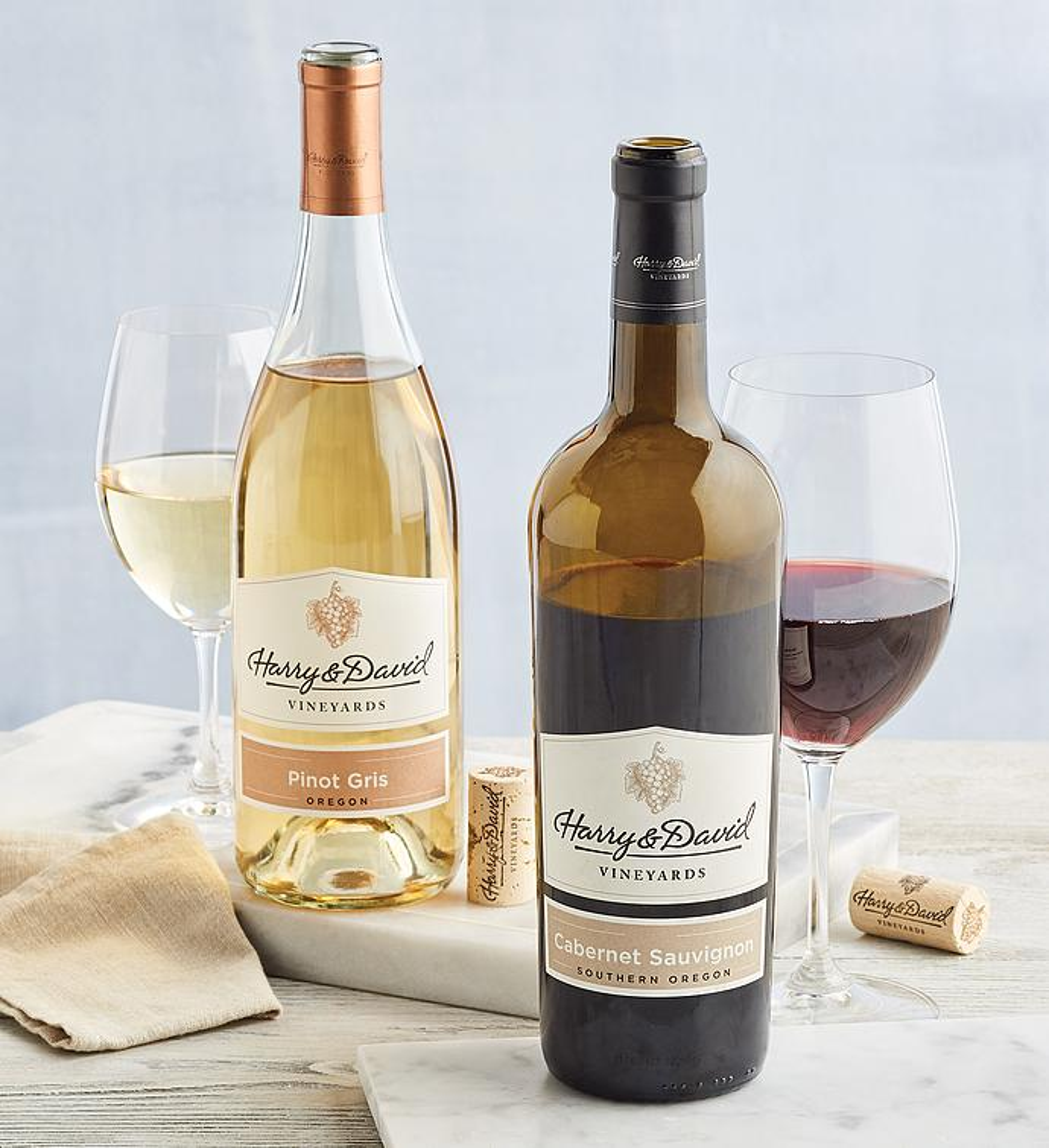 Harry  Davidtrade AwardWinning Wine Duo