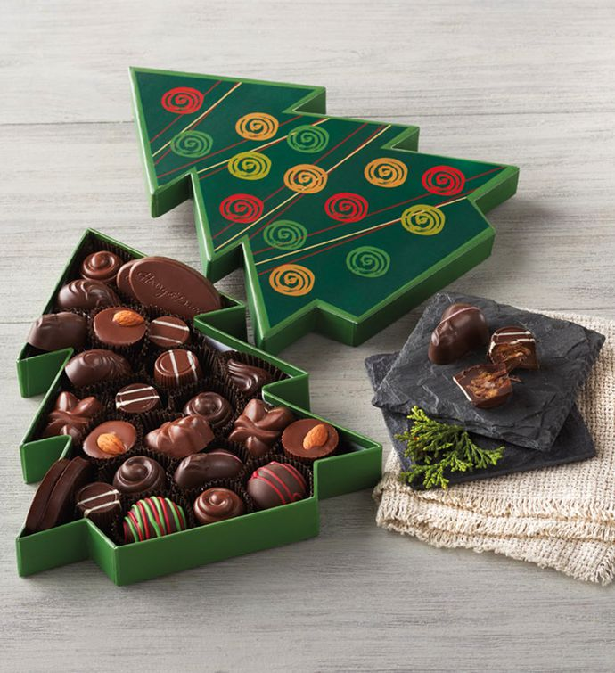Christmas Tree Box of Chocolates