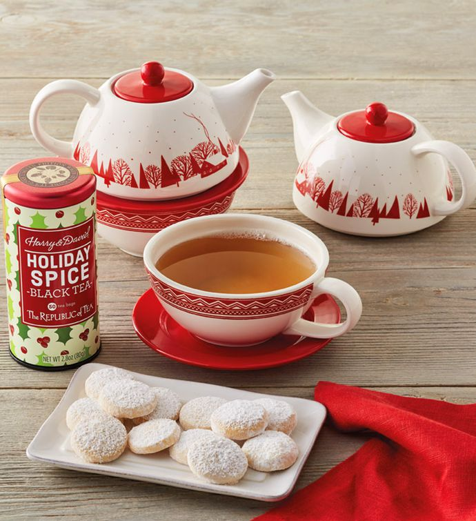 Holiday Tea and Cookies Gift
