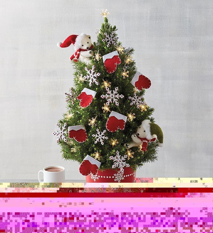 Cozy Winter Christmas Tree