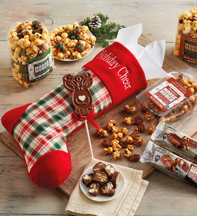 Moose Munch Christmas Stocking
