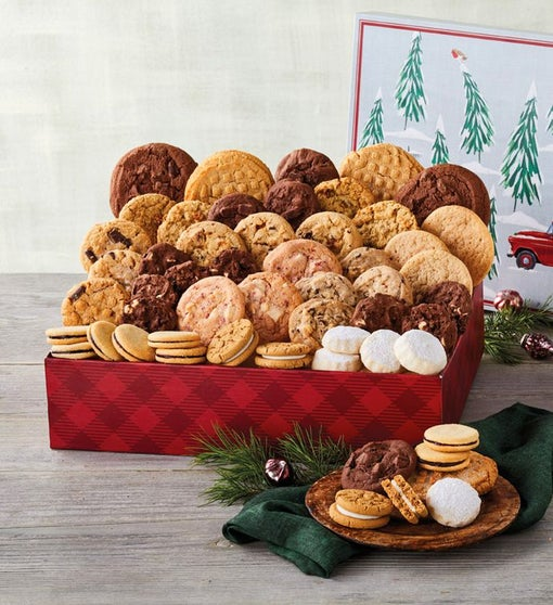 Classic Christmas Cookie Party Gift