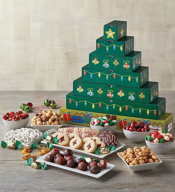 Holiday Tree Sweets Box
