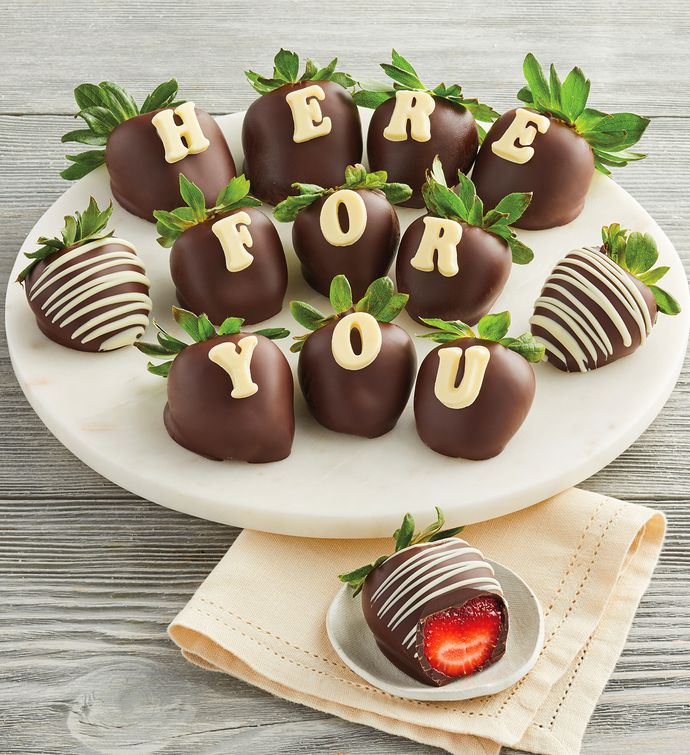 Here for You ChocolateCovered Strawberries