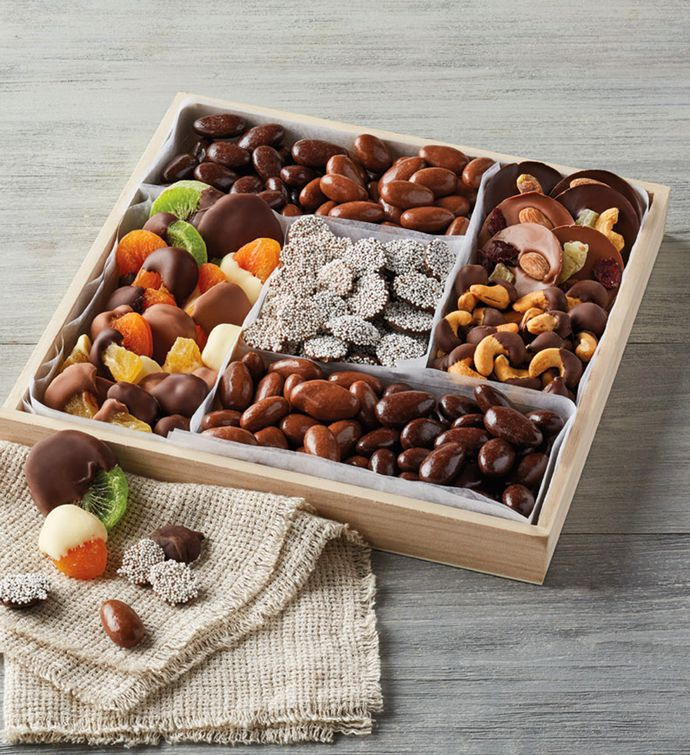 Belgian ChocolateDipped Dried Fruit and Nuts