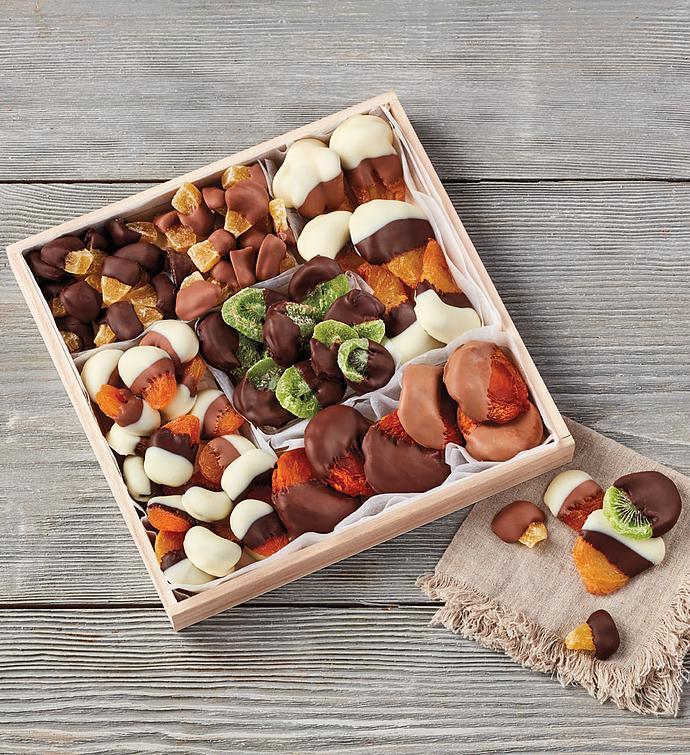 Belgian ChocolateDipped Dried Fruit