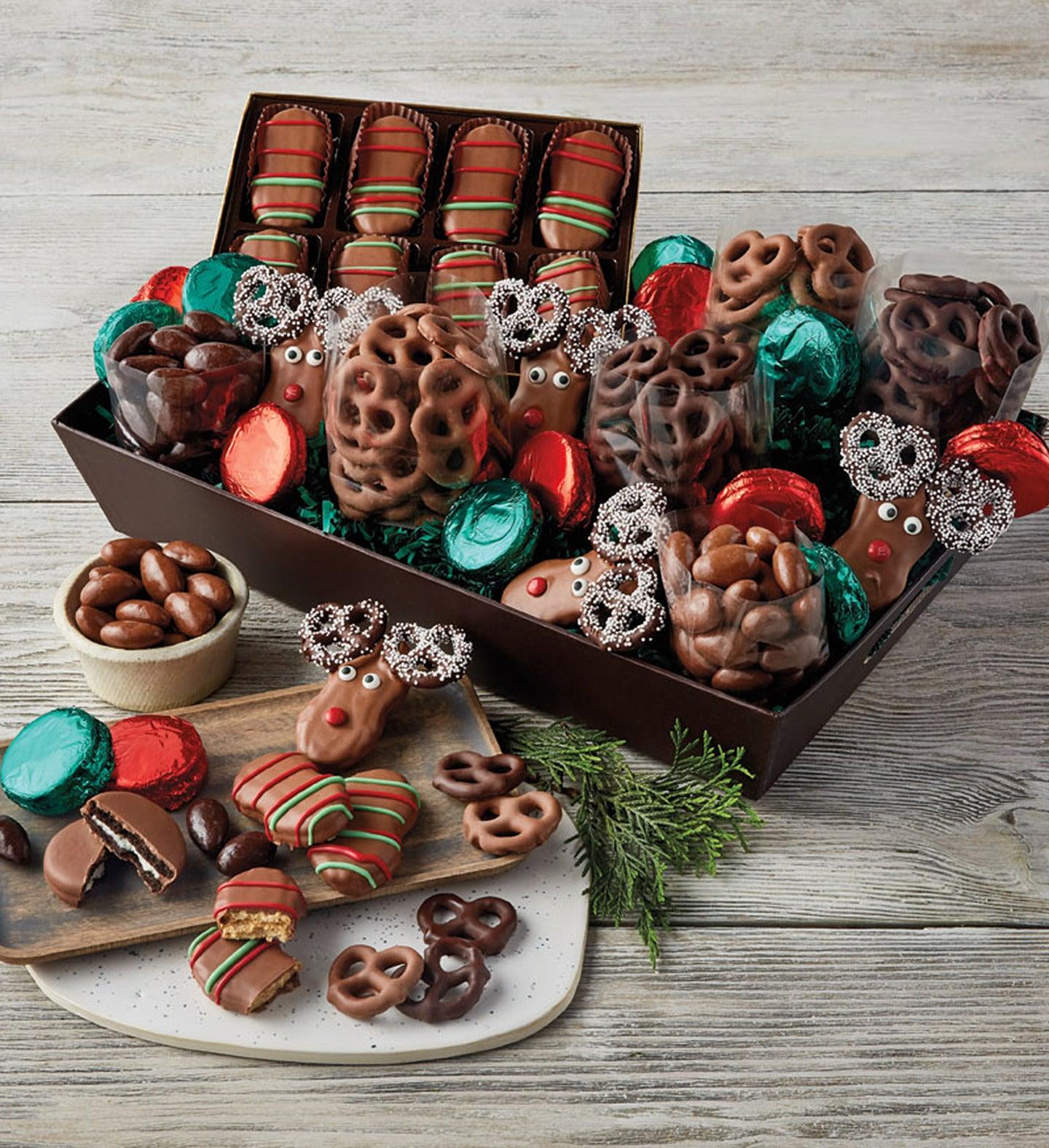 Holiday Belgian Chocolate Gift Box