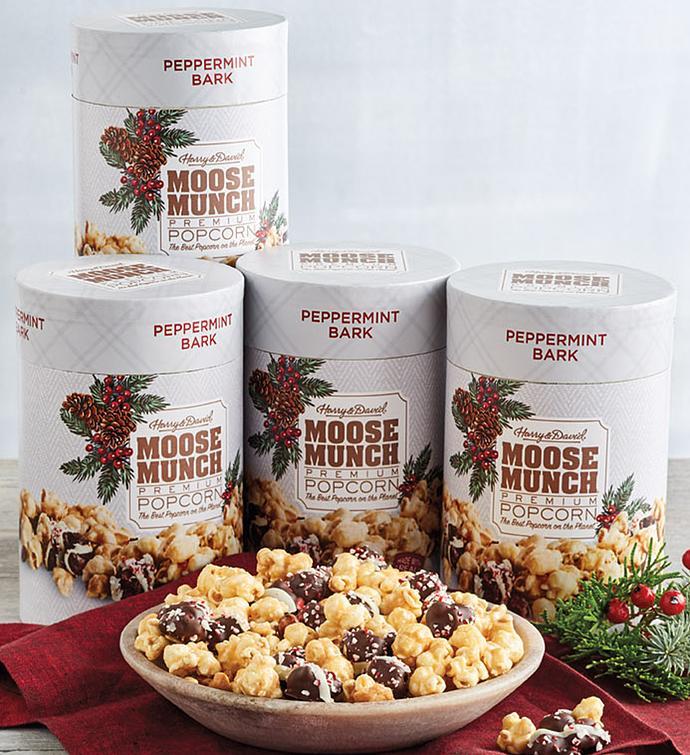 Moose Munch Peppermint Bark Premium Popcorn