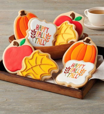 Happy Fall Cookies