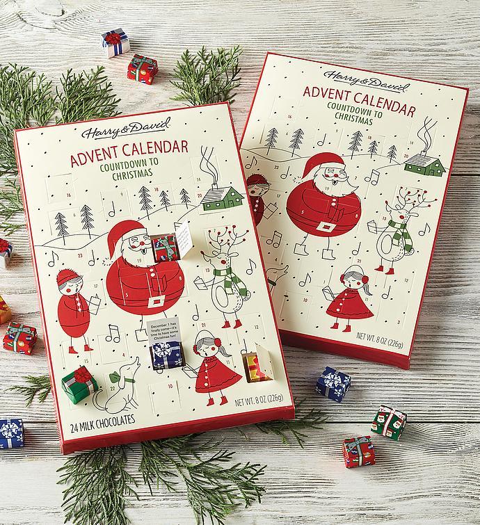 Chocolate Advent Calendar Duo