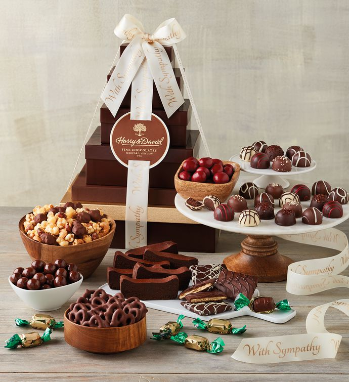 Sympathy Chocolate Tower  Deluxe