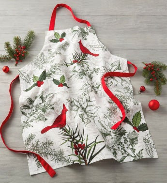 Holiday Botanical Apron