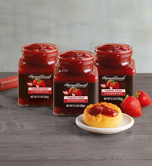 Strawberry Rhubarb Conserve Multi Pack