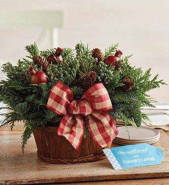 Holiday Pomegranate Centerpiece