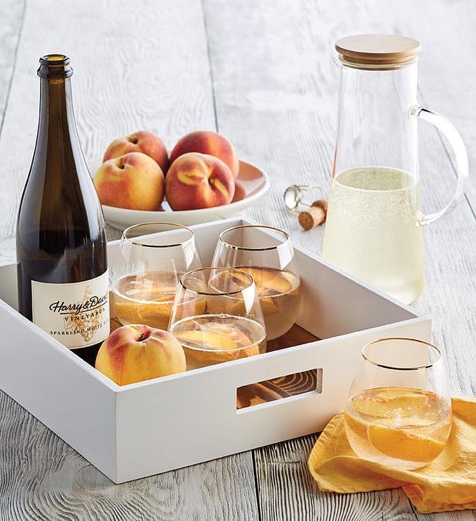 Oregold Peach Bellini Gift Set