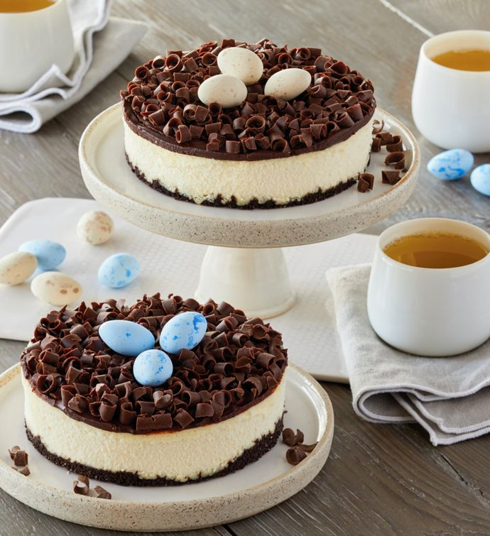 Birds Nest Cheesecake Duo