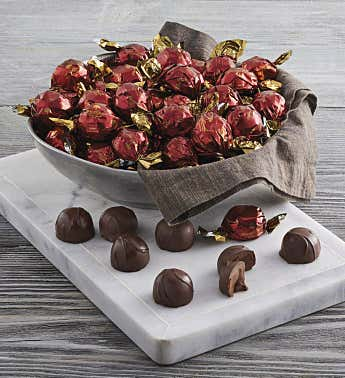 Dark Chocolate Truffles, 50-Count